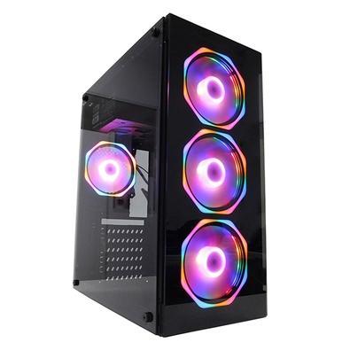 PC Gamer Concórdia Glass Intel Core i3-9100F, 8GB DDR4, SSD 240GB, RX 550 4GB, Fonte 500W, Linux - 40553