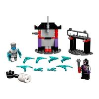 LEGO Ninjago - Conjunto de Combate Épico - Zane vs Nindroid, 57 Peças - 71731