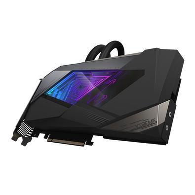 Placa de Vídeo Gigabyte Aorus NVIDIA GeForce RTX 3090 Xtreme Waterforce, RGB, 24G, GDDR6X, DLSS, Ray Tracing - GV-N3090AORUSX W-24GD