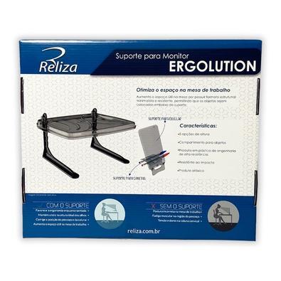 Suporte para Monitor e Suporte para Celular Reliza Ergolution - 005398