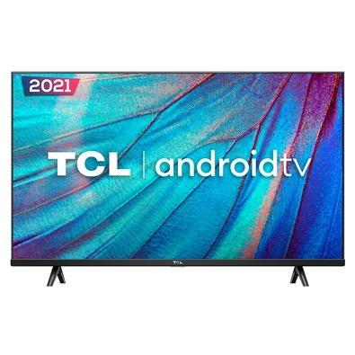 Smart TV SEMP TCL LED 32 HDR, 1366x768 (HD), USB, HDMI, Wi-Fi, 60Hz, Google Assistant, Borda Fina, Android-CTS, Preto - 32S615