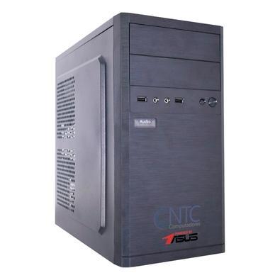 Computador NTC Powered By Asus Intel Core i3-10100, 4.3Ghz, 16GB RAM, SSD 240GB, Linux, Preto - 4305