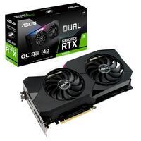 Placa de Vídeo Asus NVIDIA GeForce DUAL RTX 3060 Ti O8G V2, RGB, 8GB GDDR6, DLSS, LHR, Ray Tracing