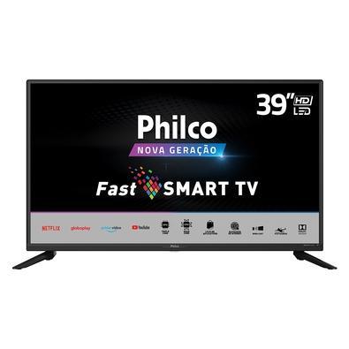 Smart TV Philco PTV39G65N5CH, 39, HD, LED, HDMI/USB/Wi-Fi, 60Hz, Preto - 99393043