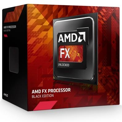 Processador AMD FX 6300 Black, Cache 14MB, 3.5GHz (4.1GHz Max Turbo), AM3+ - FD6300WMHKBOX