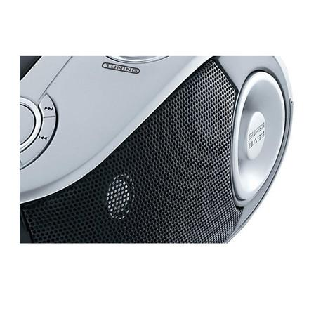 Rádio Portátil Philco - CD, MP3, USB, Aux. e FM 4W RMS Bivolt Prata/Preto - PB126 057003068