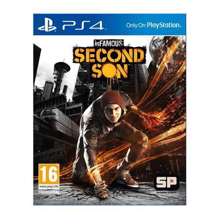 Game InFAMOUS Second Son PS4
