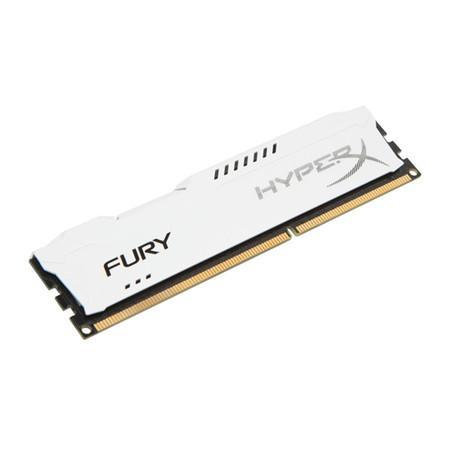 Memória Kingston HyperX FURY 4GB 1600Mhz DDR3 CL10 White - HX316C10FW/4