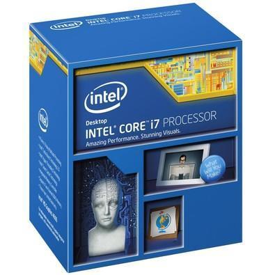 Processador Intel Core i7-4790K Haswell, Cache 8MB, 4.4GHz (4.4Ghz Max Turbo), LGA 1150, Intel HD Graphics 4600 BX80646I74790K