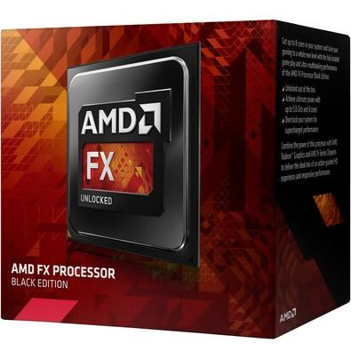 Processador AMD FX 8320E Black, Cache 16MB, 3.2GHz (4.0GHz Max Turbo), AM3+ FD832EWMHKBOX