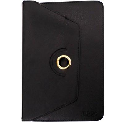 PIXXO Capa para Tablet 7 e 8´ Couro Preto -  FC1161BPEB