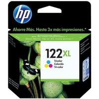 Cartucho de Tinta HP 122XL Colorido CH564HB
