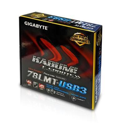 Placa-Mãe Gigabyte GA-78LMT-USB3 KaBuM! E-Sports, AMD AM3+, mATX, DDR3