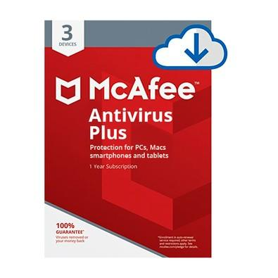 Intel McAfee Antivírus Plus 3 PCs - Digital para Download