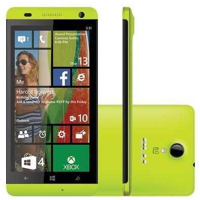 Smartphone Blu Win HD W510L, 8GB, 8MP, Tela 5´, Amarelo