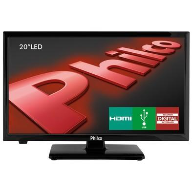 TV LED Philco 20´ HD com USB, HDMI - PH20U21D Preto