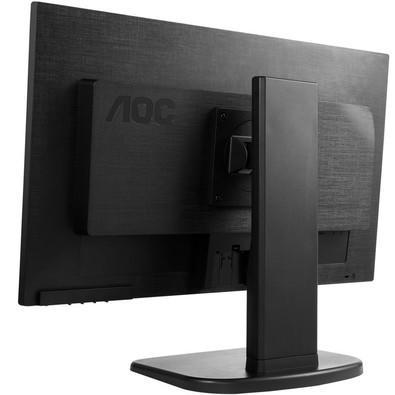 Monitor AOC LED 23.6´ Widescreen, Full HD, HDMI/VGA/DVI, Altura Ajustável - M2470PWH
