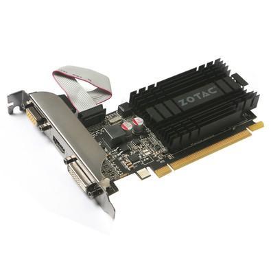 Placa de Vídeo Zotac NVIDIA GeForce GT 710 2GB, DDR3 - ZT-71302-20L