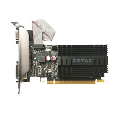 Placa de Vídeo Zotac NVIDIA GeForce GT 710 2GB, DDR3 - ZT-71302-20L