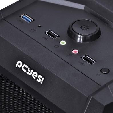Computador Gamer Movva Hardest AMD FX-6300 HD 500GB 8GB 1600MHZ Blue MVHARAZ630050008