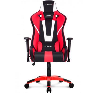 Cadeira Gamer AKRacing Xtra Bigger CP-6, Black White Red - 10260-9