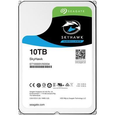 HD Seagate Surveillance SkyHawk, 10TB, 3.5´, SATA - ST10000VX0004