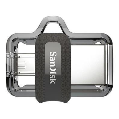 Pen Drive SanDisk p/ Smartphone Ultra Dual Drive MicroUSB / USB 3.0 64GB SDDD3-064G-G46