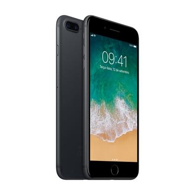iPhone 7 Plus Preto Matte, 128GB - MN4M2
