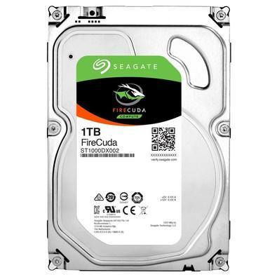 SSHD Seagate SATA 3,5´ Híbrido (8GB SSD) FireCuda 1TB 7200RPM 64MB Cache SATA 6,0Gb/s - ST1000DX002