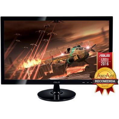 Monitor Gamer Asus LED 24´ Widescreen, Full HD, HDMI/VGA/DVI,  2ms - VS248H-P