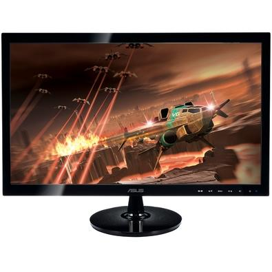 Monitor Gamer Asus LED 24´ Widescreen, Full HD, HDMI/VGA/DVI, 2ms - VS248H-P