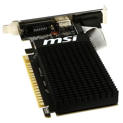 Placa de Vídeo MSI NVIDIA GeForce GT 710 1GD3H LP 1GB, DDR3