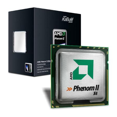 Processador  AMD  Phenom II X4 965 Quad-Core 3.4GHz Black Edition Box