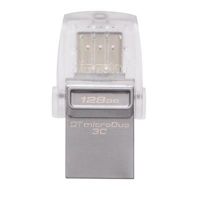 Pen Drive Kingston DataTraveler USB 3.1 Interface Dupla Portas USB A e USB C 128GB - DTDUO3C/128GB