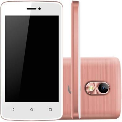 Smartphone Positivo Twist Mini S430, 8GB, 8MP, Tela 4´, Rosa