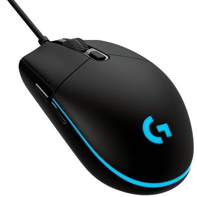 Mouse Gamer Logitech G PRO RGB Lightsync 12000DPI - 910-004873