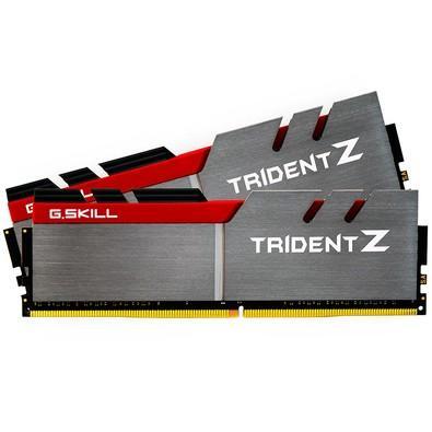 Memória G.SKill  Trident Z 8GB (2x4GB) 3200MHz DDR4 CL 16 - F4-3200C16D-8GTZ
