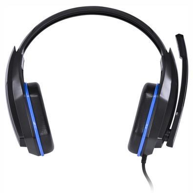 Headset Gamer Vinik Ogma VX Preto e Azul