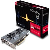 Placa de Video VGA AMD Sapphire RADEON RX 570 PULSE 4GB GDDR5 PCI-E Dual HDMI/DVI-D/Dual DP OC w/backplate - 11266-04-20G