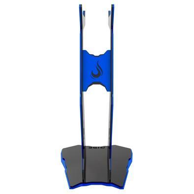 Suporte de Headset Rise Venon Preto e Azul - RM-VN-01-BB