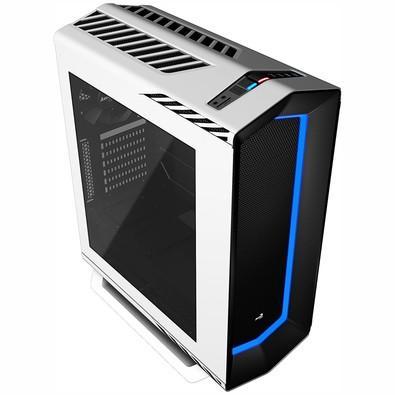 Gabinete Aerocool Gamer Mid Tower Project 7 EN58300 Branco