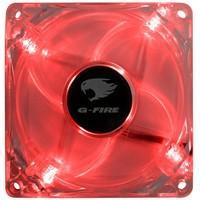 Cooler Fan G-Fire 8cm com LED Vermelho EW0408E