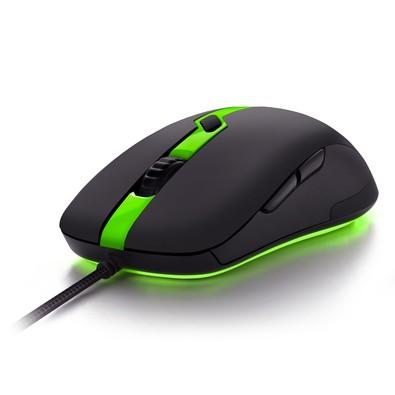 Mouse Gamer Sharkoon Shark Force Pro Verde