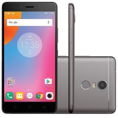 Smartphone Lenovo Vibe K6 Plus, Octa Core , Android 6.0 , Tela Full Hd 5.5´, 16mp, 32gb, 4g, Dual Chip, Desbloqueado - Grafite
