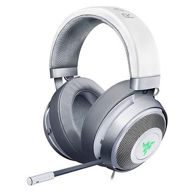 Headset Gamer Razer Kraken 7.1 V2 Mercury White - USB