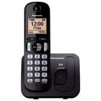 Telefone Panasonic Sem Fio KX-TGC210LBB Preto