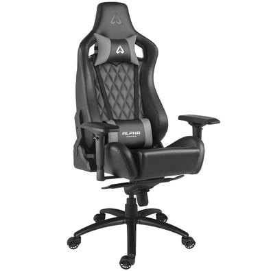 Cadeira Gamer Alpha Gamer Polaris Office, Black