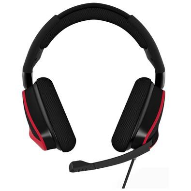 Headset Gamer Corsair USB Dolby 7.1 Preto e Vermelho Void Pro - CA-9011157