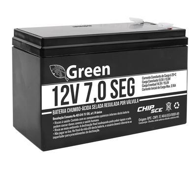 Bateria Selada Green 12V 7,0 SEG 013-3505