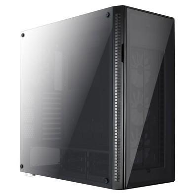 Gabinete Gamer Aerocool Full Tower QUARTZ PRO Preto
